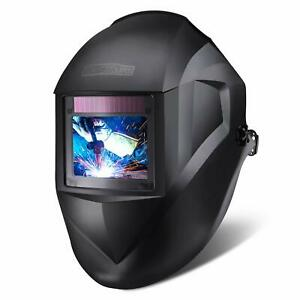 Tacklife Welding Helmet Large Viewing Area 3 94 x2 87 Top Optical Clarity 1