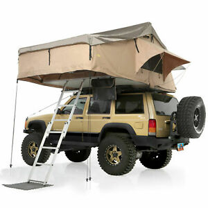 Smittybilt Overlander Xl Roof Top Camp Tent W Ladder Mattress For Jeep Truck