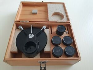 Phase Contrast Microscope Carl Zeiss Jena Rare 1960s