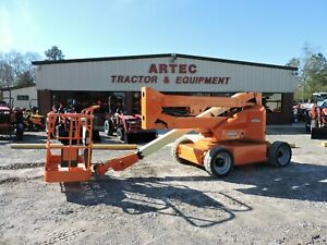 2010 Jlg E450a Articulating Boom Lift Watch Video Only 880 Hours