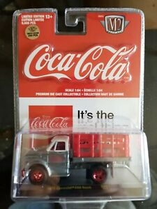 M2 Machines Coca-Cola 1970 Chevrolet C60 RW01 RAW Super Chase 1 of 250 VHTF