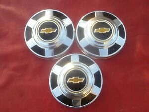 Vintage 1973 77 Gmc 3 4 1 Ton Truck Dog Dish Poverty Hubcaps Wheel Covers