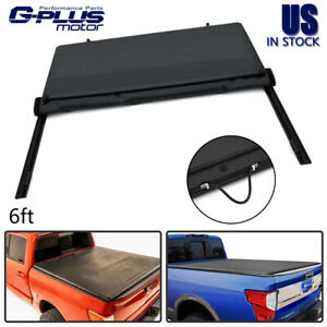 For 05 19 Nissan Frontier 6 Standard Bed Adjustable Lock Roll up Tonneau Cover