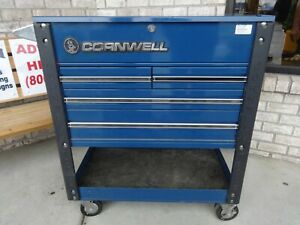 Cornwell Blue Toolbox Rolling Cart Local Pickup Only Heavy Duty