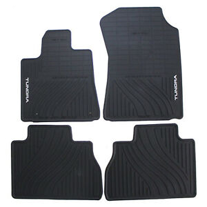 Genuine Oem All Weather Floor Mats For Toyota Tundra Crew Max 2007 2011