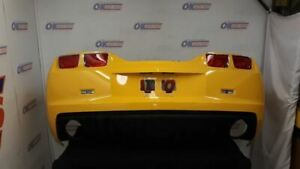 10 Chevy Camaro Complete Rear Bumper Assembly With Tail Light Tail Lamps Yellow