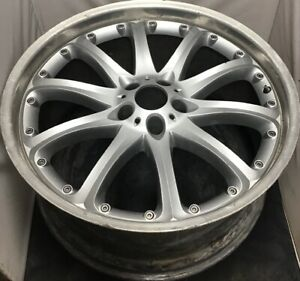 One Used Repaired Rare Hartge Dm 22 X 9 5 Bmw 5x120 Sliver 36530950 1854