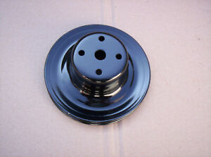 Mopar Cuda Challenger Charger 440 383 Water Pump Pulley Single Groove W O Air