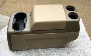 2004 2008 Ford F150 F 150 Column Shift Floor Center Console Tan Brown 05 06 07