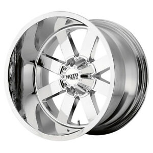 1 New 24x14 Moto Metal Mo962 Chrome Wheel rim 8x170 Et 76