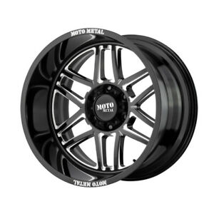 4 New 24x14 Moto Metal Folsom Gloss Black Milled Wheel rim 6x139 7 Et 76