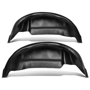 For 2015 2019 Ford F150 Non raptor Pair Rear Wheel Well Liners Guards Mud Flap