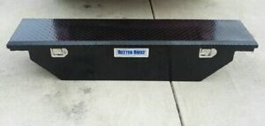 Better Built Low Profile Wedge Truck Tool Box 61 5 Crown Series Slimline