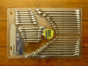 Kobalt Wrench Set 34 Pc Combination Metric Sae