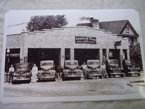 1946 Chevrolet Trucks Lined Up In Front Of Dealer 11 X 17 Photo Picture
