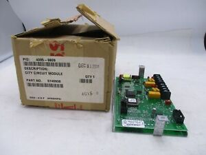 New Simplex 4005 9809 Fire Alarm City Crcuit Module 0740938