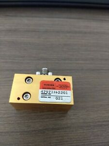 Hughes 47971h 2201 26 5 40 Ghz Sma Rf Waveguide Switch