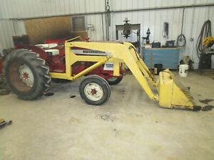 International 504 Utility Working Front End Manure Loader Antique Tractor