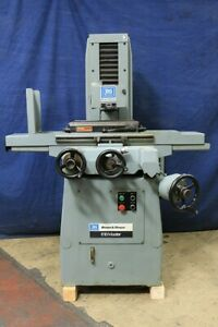 6 W 18 L Brown Sharpe 618 Master Made In Japan By Amada Surface Grinder Ro