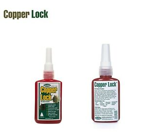 Copper Lock No Heat Solder 2oz Tube Red 10 800 Made In Usa