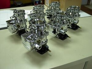 6 Brand New 1932 Ford Roadster Coupe Chrome Stromberg 97 Carb Carburetors