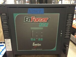Enersys Enforcer Scr Battery Charger Tested 24 Volt 750ahr 3 Phase