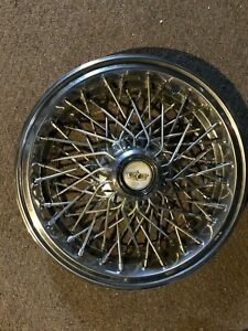 15 Used Wire Spoke Wheel Cover W Chevrolet Caps For Caprice