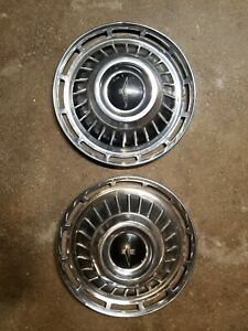 Chevrolet Corvair Monza Hubcaps Minor Chipping Set Of 2