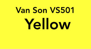 Van Son Printing Ink Vs501 Pantone Yellow Rubber Base Plus 4 0 Oz Can