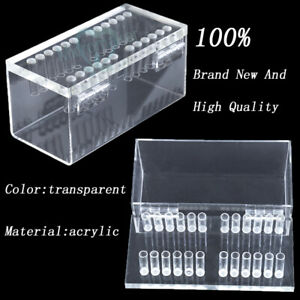 1pc Dental Acrylic Organizer Holder Case For Orthodontic Preformed Arch Wire
