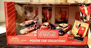 Coca Cola Johnny Lightning 3 Car Collection 1:64 Scale Die Cast New In Box Orig.