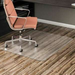 Alera Non studded Chair Mat For Hard Floor 46 X 60 Clear 042167200855
