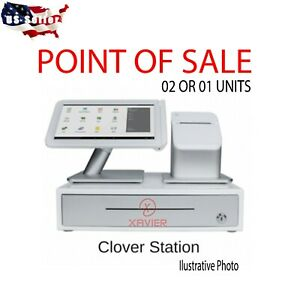 Clover C100 Station 1 0 Point Of Sale System Complete Pos Setup
