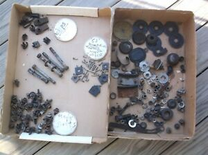 Box Lot Of 1963 Ford Galaxie 500 Xl Bolts Nuts Brackets Clips And Other Parts