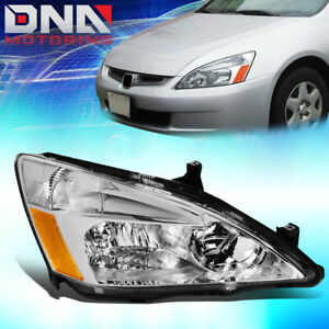 For 2003 2007 Honda Accord 7th Gen Factory Style Headlight Lamp Assembly Right