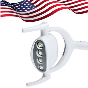 15w 4 Led Dental Oral Oprating Exam Cold Light Lamp For Dental Chair Unit Usa