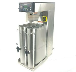 Bunn Itb Commercial Iced Tea Brewer Infusion Dispenser Dual 41400 0500