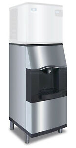 Manitowoc Spa 160 120lb Hotel Ice Dispenser 22 Wide Floor Model Stainless