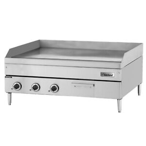 Garland Gtgg48 gt48m 48 Countertop Snap Action Thermostatic Gas Griddle