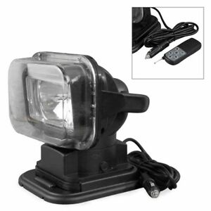 360 Magnetic 55w 12v Hid Xenon Search Work Light Wireless Remote Spotlight New