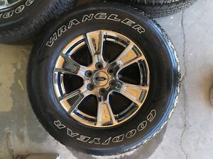 18 Ford F150 Truck Chrome Oem Wheel And Tire