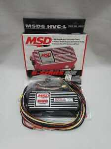 Msd 6632 6hvc L Pro Ignition Controller With Soft Touch Rev Limiter