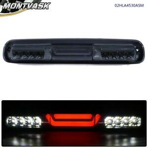 Chrome Smoke 3d Led Bar Third 3rd Brake Cargo Light For 99 07 Silverado Sierra