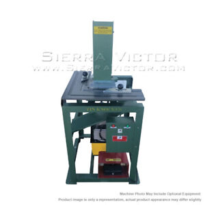 Tin Knocker Hydraulic Corner Notcher Free Freight