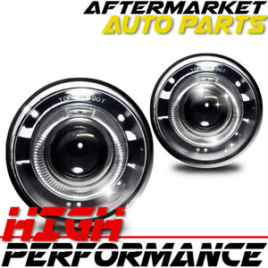 For 2004 2010 Jeep Grand Cherokee Halo Projector Fog Lights Clear
