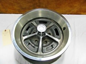 1970 s Dodge Plymouth 14 Sport Rally Rim With Center Cap Trim Ring Used 1