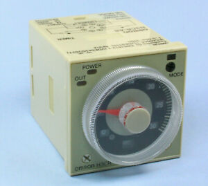1pc Omron Timer 8 Pin H3cr a8 100 240vac 100 125vdc 1 2 Seconds To 300 Hrs