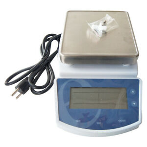 Ms200 Working Panel 135 135mm Digital Hot Plate Magnetic Stirrer Mixer 2l 110v