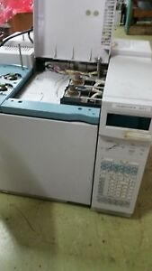 Agilent hp Gc 6890 With Dual Fid Dual Injectors And Controller