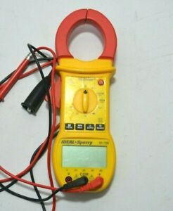 Ideal Sperry 61 726 Digi Snap Digital Clamp Multimeter